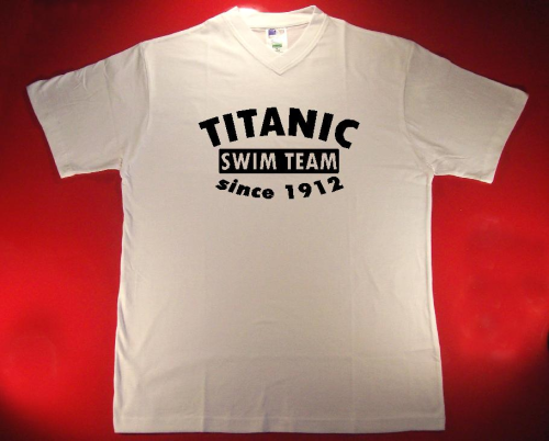 Tshirt Titanic swim team