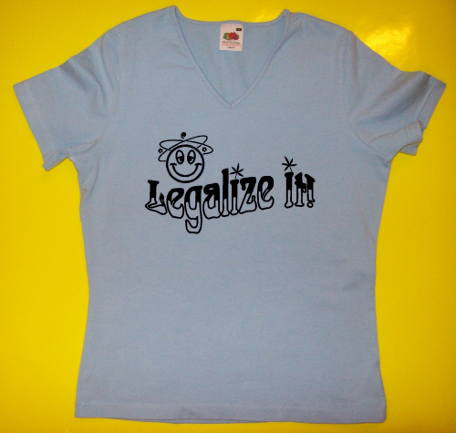 T-Shirt - Funshirt - Legalize it