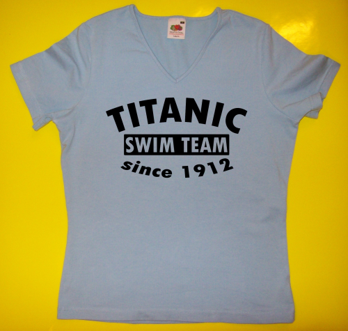 T-Shirt - Funshirt - Titanic swim team