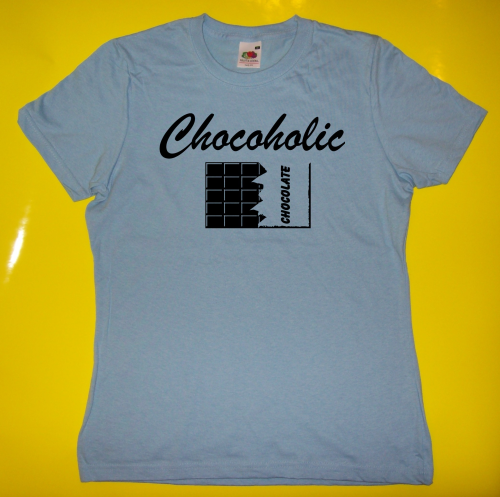 T-Shirt - Funshirt - Chocoholic