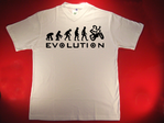 Tshirt Biker Evolution
