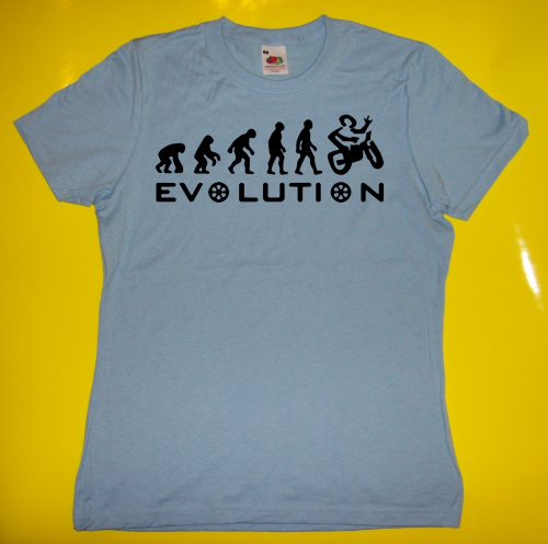 T-Shirt - Funshirt - Biker Evolution