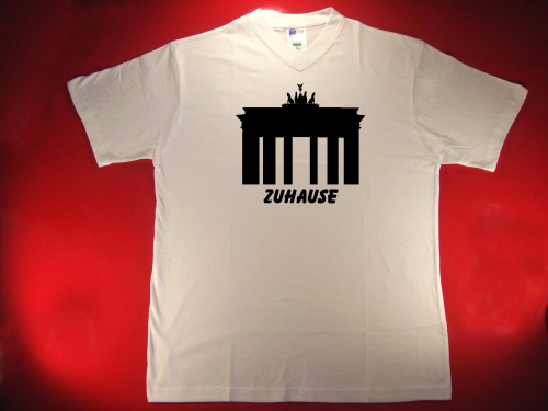 Tshirt Zuhause in Berlin - Brandenburger Tor