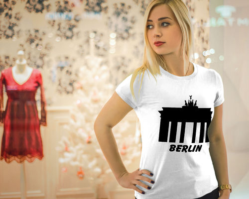 Damen T-Shirt - Berlin Brandenburger Tor