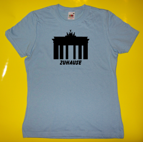 T-Shirt - Zuhause in Berlin - Brandenburger Tor