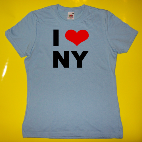 T-Shirt - Funshirt - I love New York